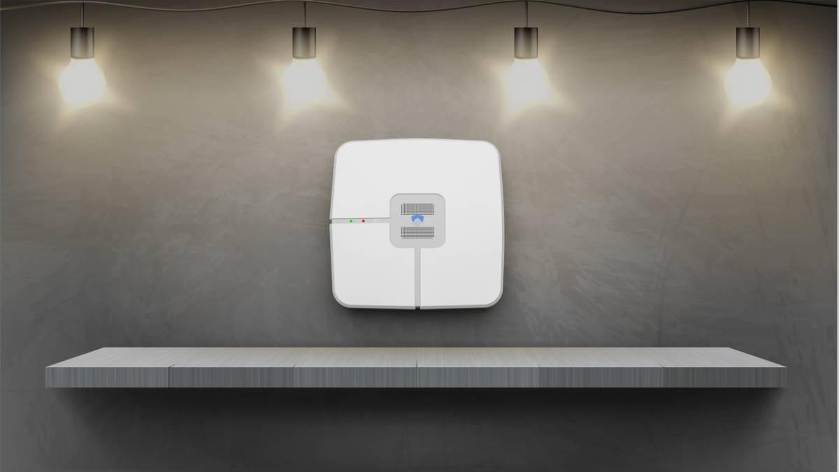 Une centrale d'alarme sans fil compacte et design