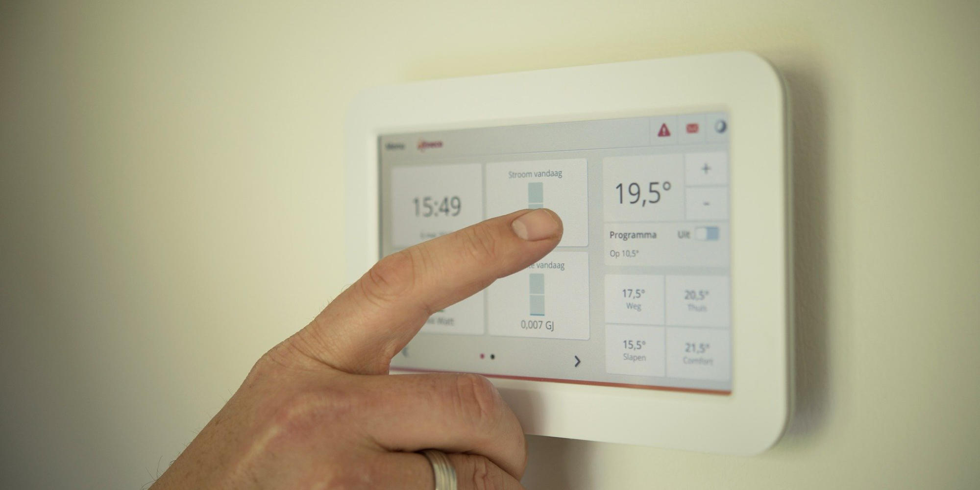 comment fonctionne un thermostat domotique