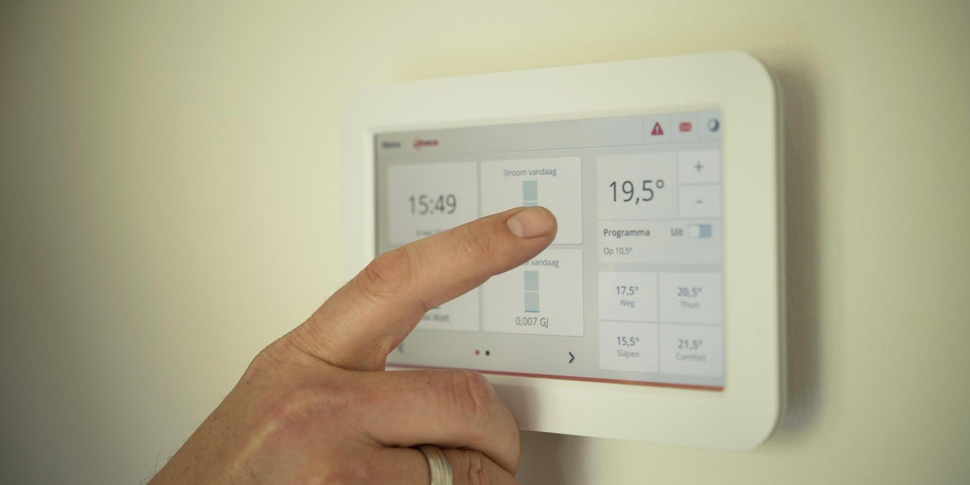 comment fonctionne un thermostat domotique