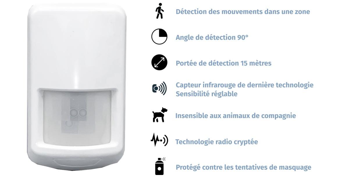 Un détecteur de mouvements insensible aux animaux