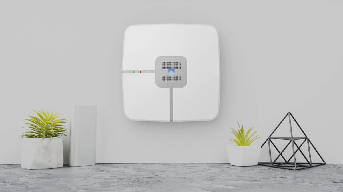 Centrale d'alarme compacte et design